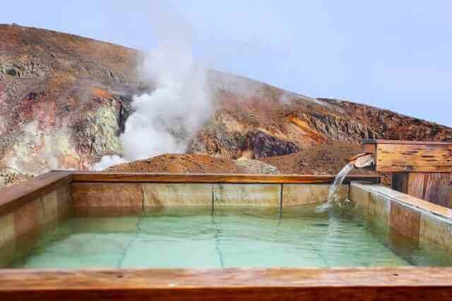 火山と温泉